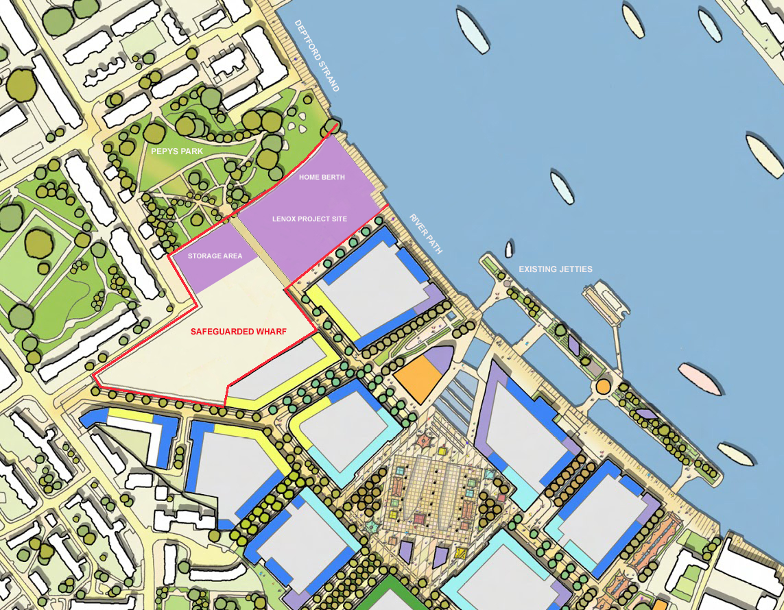 Lenox Project Site Plan