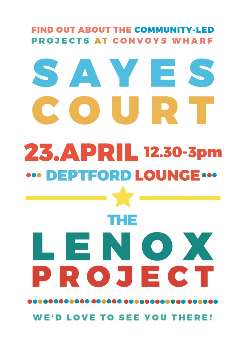 deptford lounge poster